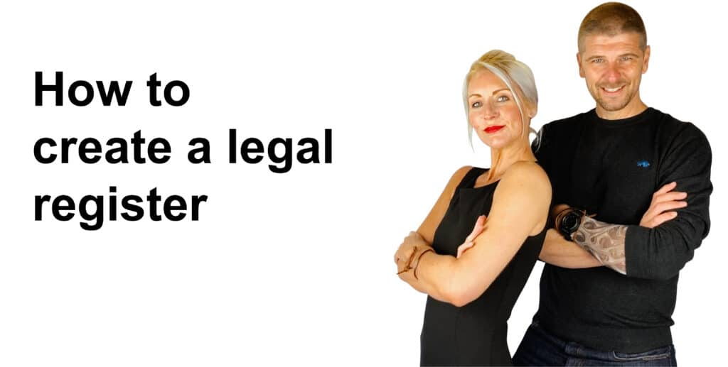 How To create a legal register for ISO 27001