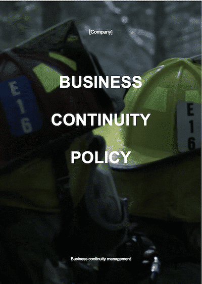 Business Continuity Policy