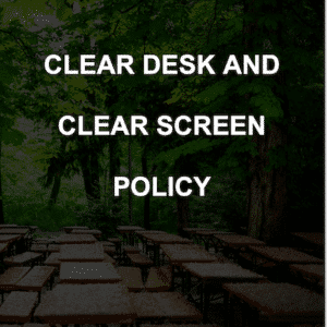 Clear Desk Policy