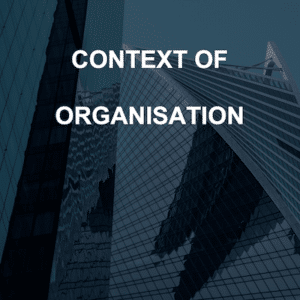 ISO 27001 Context of Organisation