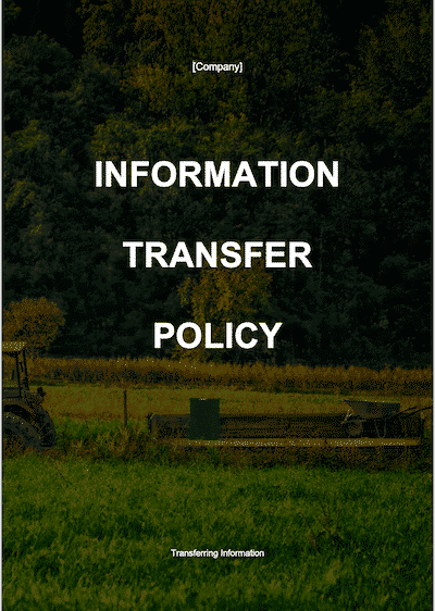 Information Transfer Policy