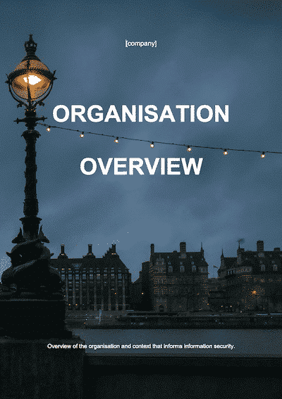 ISO 27001 Organisation Overview
