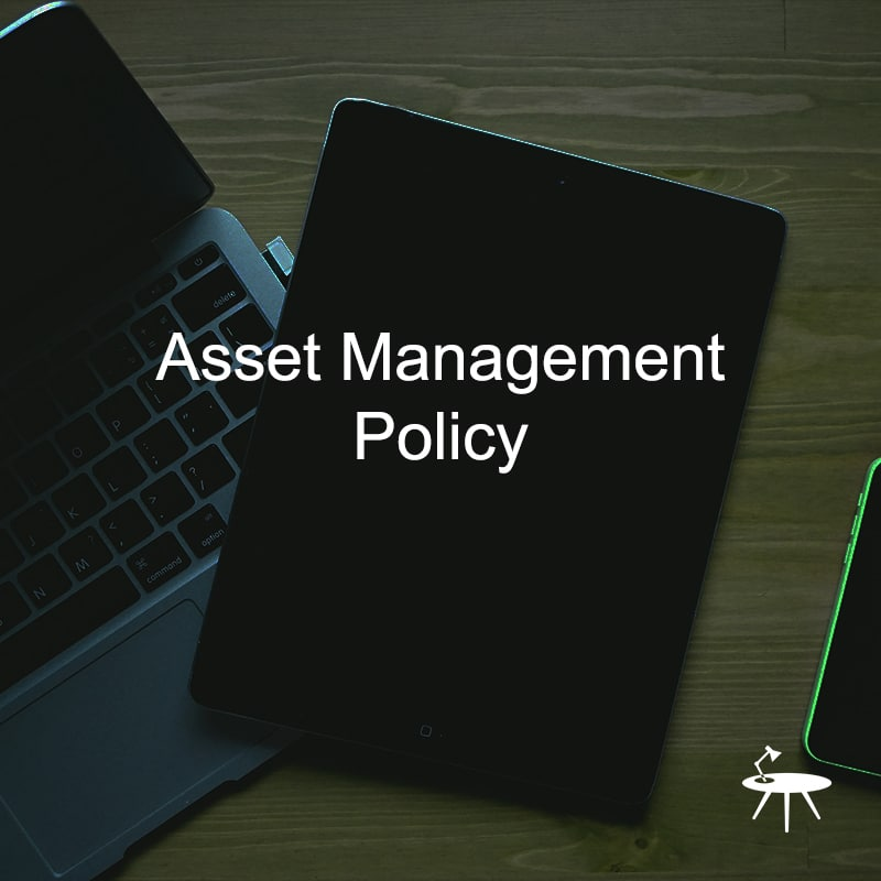 Asset Management Policy Template