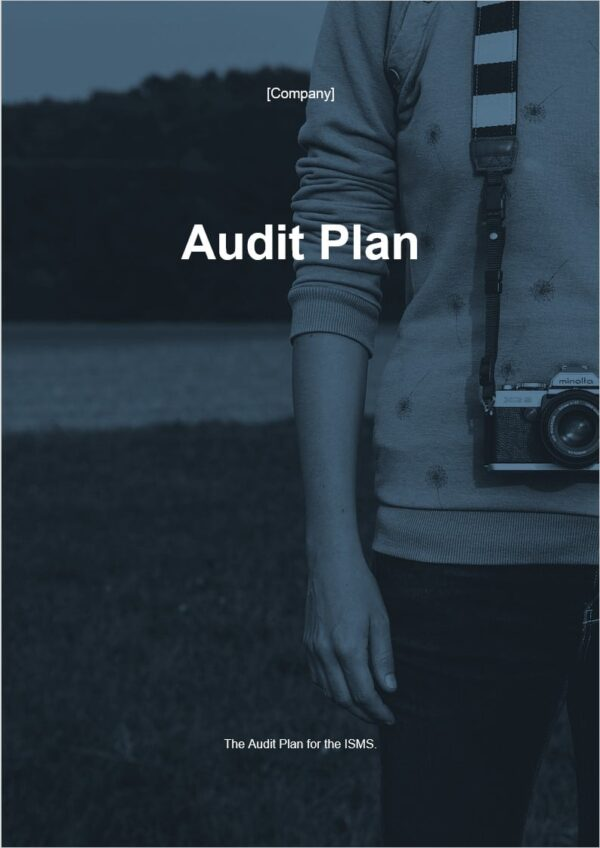 Audit Plan template for ISO 27001. An ISO 27001 template.