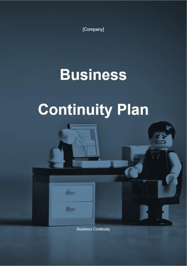 Business Continuity Plan template for ISO 27001. An ISO 27001 template.