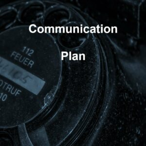Communication Plan template for ISO 27001. An ISO 27001 template.