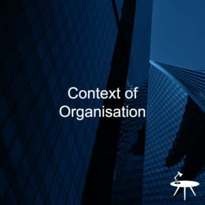 ISO 27001 Context of Organisation template