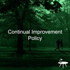 Continual Improvement Policy Template