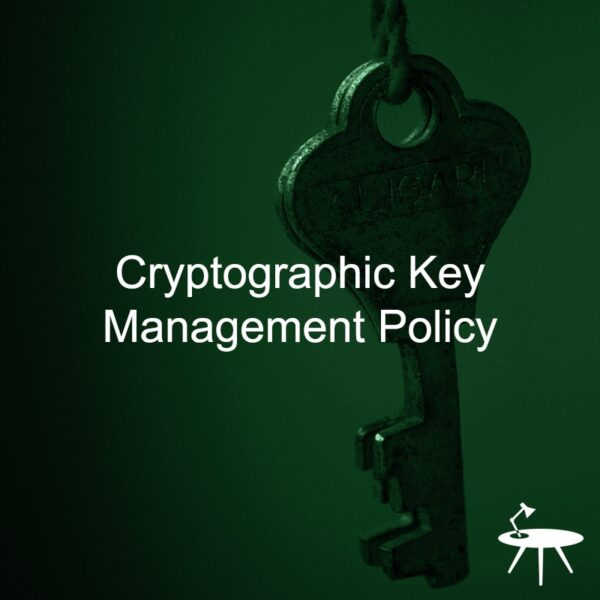 Cryptographic Key Management Policy Template
