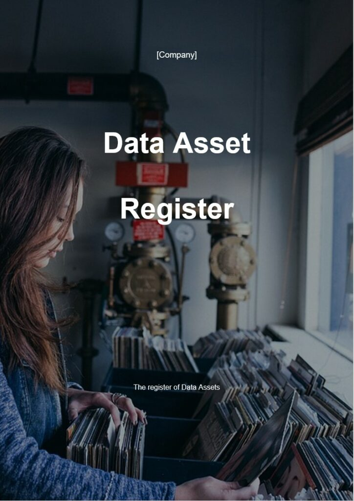 Data Asset Register | ISO 27001 Documents templates