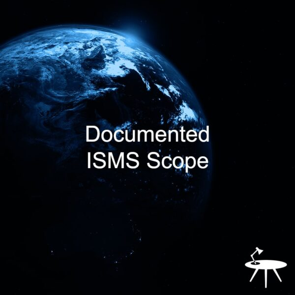 ISO 27001 Documented ISMS Scope template