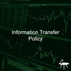 Information Transfer Policy Template