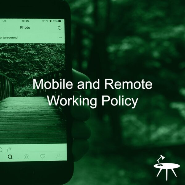 Mobile and Remote Working Policy Template