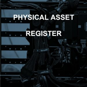 Physical Asset Register template for ISO 27001. An ISO 27001 template.