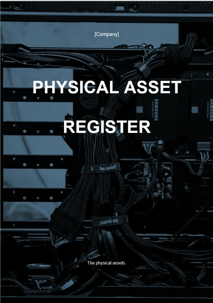 Physical Asset Register | ISO 27001 Documents templates