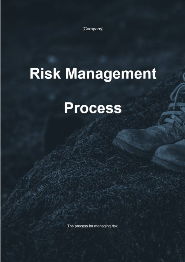 Risk Management Process for ISO 27001 for ISO 27001. An ISO 27001 template.