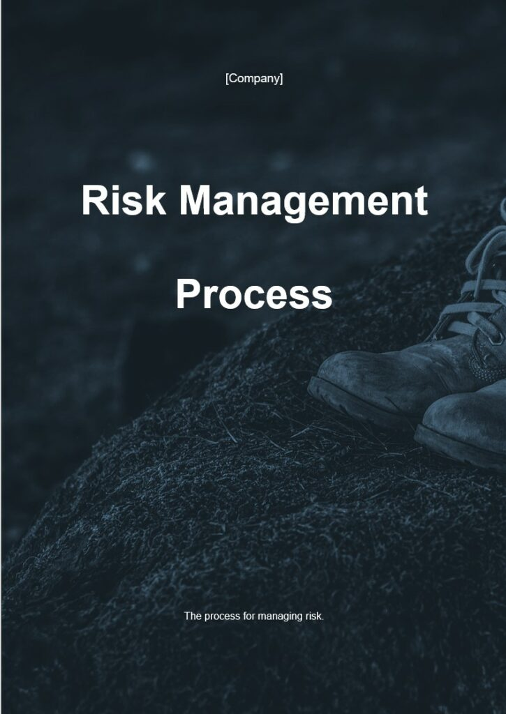 Risk Management Process | ISO 27001 Documents templates
