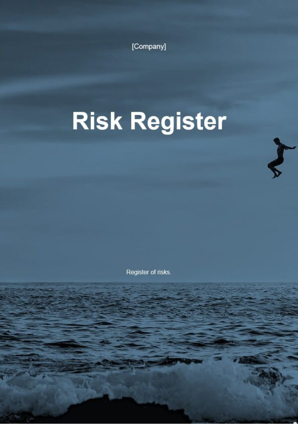 Risk Register template for ISO 27001. An ISO 27001 template.