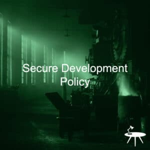 Secure Development Policy Template