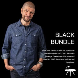 Black Bundle Complete ISO 27001 Template Pack