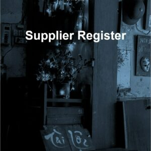 Supplier Register for ISO 27001. An ISO 27001 template.