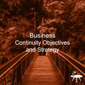 Business Continuity Objectives and Strategy Cover for ISO 27001