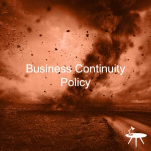 Business Continuity Policy Template
