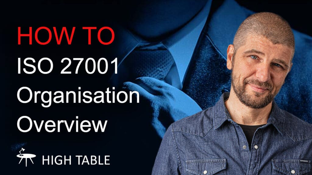 Organisation Overview ISO 27001